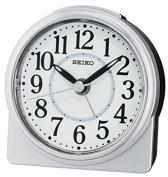 Seiko Alarm Clock Analogue Unisex Pendant Silver QHE137S