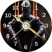 Call of Duty Black Ops 3 Novelty Cd Clock + Free Desktop Stand