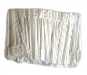 caterpack Tea Stirrers, Plastic, White, Pack of 500