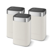 Morphy Richards Limited Edition Storage Canisters - Sand, Set of 3