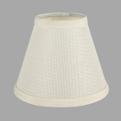 ONEPRE Cream Clip on Lamp Shades light shades Off White Candle Chandelier Lampshades for Ceiling Pendant Light