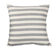 Saingace 1Pc Stripe Print Sofa Bed Home Decoration Festival Pillow Case Cushion Cover 45CM*45CM