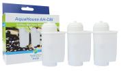 3x AH-CBI Compatible for Bosch Brita Intenza TCZ7003 Water Filter for Fully Automated Coffee Machine TCA 7 / TCC 7 / TES 70 Neff Siemens Gaggenau