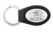 NCAA Alabama Crimson Tide Leather Concho Key Fob
