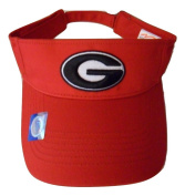 Georgia Bulldogs Adjustable Logo Visor, Choose Your Team Colour