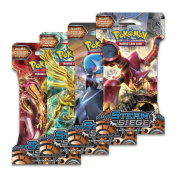 """Pokemon XY11 """"Steam Siege"""" 4x Booster Packs = 40 Additional Cards for Pokemon Trading Card Game"""