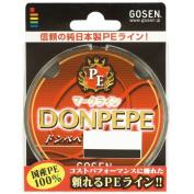 GOSEN Fishing Line PE Line Donpepe 150m #0.4 GB01504 Japan import