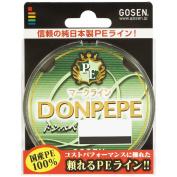 GOSEN Fishing Line PE Line Donpepe 100m #1.2 Japan import