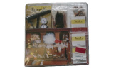 Turrall Fly Tying Kit Popular Display - Transparent
