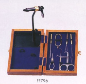 Standard Fly Tying Kit with wooden box