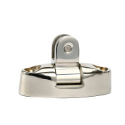 Amarine-made Stainless Steel Swivel Deck Hinge With Rubber Pad