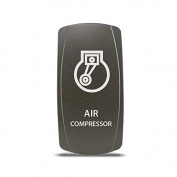 CH4x4 Grey Series Rocker Switch Air Compressor Symbol 3