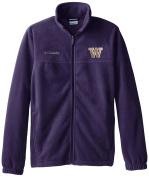 NCAA Washington Huskies Collegiate Flanker II Full Zip Fleece Jacket