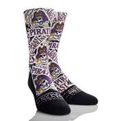 Rock'em Apparel East Carolina University ECU Pirates Custom Athletic Crew Socks