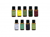 The Essentials! Collection Of 9 Most Popular Essential Oils, 15ml Each, By RESURRECTIONbeauty