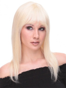 Sexy Long Natural Women Wigs with Bangs Synthetic Wigs