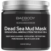 Dead Sea Mud Mask Best for Facial Treatment, Acne, Oily Skin & Blackheads - Minimises Pores, Reduces Wrinkles, and Improves Overall Complexion. 100% Natural-Minerals From The Dead Sea 260ml