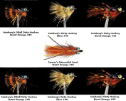 Carp Fly Fishing Assortment Fly Kit - collection of 7 Flies