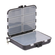 Zeroyoyo Large 16 Compartments Waterproof Fly Boxes Hook Bait Storage Fishing Lure Case
