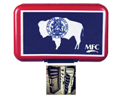 MFC Optional Leaf Poly Fly Box - Wyoming State Flag - Leaf Included