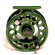 Galvan Rush Light 3 Fly Reel, Green - with $20 gift card