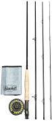 AdamsbuiltFLY COMBO LEARN TO FLY FISH 2.7m 5WT BOXED,2.7m 5WT,DARK GREY