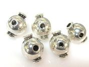 3 Guru beads - Tibetan large 3 hole Guru beads 14 mm x 18 mm - GB050