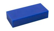 7.6cm - 1.6cm x 15cm x 2.5cm - 1.3cm Medium-Hard 0.5kg Blue Melting Wax Carving Machining Block Jewellery Making Tool