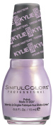 SinfulColors Kylie Jenner Trend MATTErs Collection Pure Velvet Mattes, Kozy (Lavender Pearl) 15ml