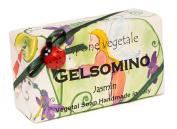Alchimia GELSOMINO (Jasmin), Vegetable Handmade soap Bar from Italy