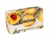 Alchimia LIMONE, Vegetable Handmade soap Bar from Italy …