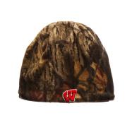 Reversible Camouflage Mossy Oak Skull Cap - NCAA Cuffless Camo Beanie Hat