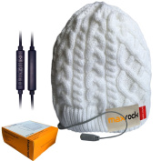 Maxrock Unisex Winter Beanie Hat Cap Headset with In-line Mic & Volume Control, Hands Free for Smart Phones, Perfect for Outdoor Sports Running Skiing