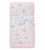Little Me Baby Girl Blanket Floral Pink Dainty Bouquets