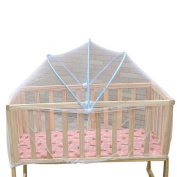 JYS Baby Mosquito Nets Full Safety Crib Mesh Pull On Arched Protector Cover Net
