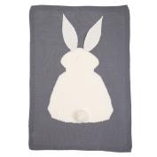 Buedvo Kids Sleeping Blanket ,Toddles Cute Rabbit Knitting Blanket Bedding Quilt