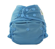 Sweet Pea Reusable Swim Nappy, Fishtail, One-Size, Blue