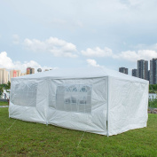 Toucan Outdoor 6.1m x 3m Outdoor Canopy Party Tent With 6 Sidewalls