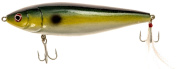 17cm Wood Boog (with Rattle) - Threadfin Shad