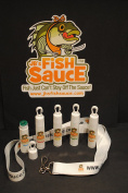JB's Fish Sauce Fish Attractant - Solid Stick Style - NEW Hook & Lanyard - CATCH MORE FISH! - Works On All Species