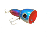 Blue And Pink Striped 18cm Bowling Pin Lure