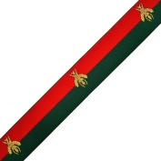2.5cm - 1.3cm Bee Elastic Stretch Ribbon Trim, Stretch Elastic Band, headband, hand band and waist belt by 1 yard, TR-11371