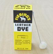 Fiebing Leather Dye Craft 4 0z BEIGE Dye Leather