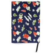 """Moomin, Little My """"Cute Book Cover"""" Navy MO-NT230"""