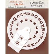 Studio 490 Select-A-Stencil-Uppercase