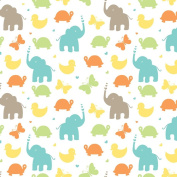 Baby Animals Wrapping Paper - 12m Roll