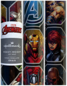 Hallmark Marvel Avengers Heavy Duty Gift Wrapping Paper 2.1sqm Roll