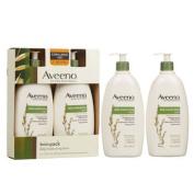 Aveeno Active Naturals Daily Moisturising Lotion, Twin Pack 590ml