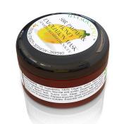Organic FACIAL EXFOLIATION MASK & DAILY SCRUB   Pure Honey & Papaya Formula   Sensitive & Rosacea