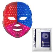 DEESSE LED FACIAL MASK Home Aesthetic Mask, Self-Care SBT-MLLT + LJH Vital Firming Hydrogel Mask Sheet 10pcs Set